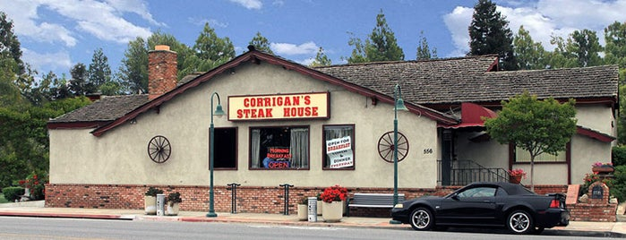 Corrigan's Steakhouse is one of Old Los Angeles Restaurants Part 2.