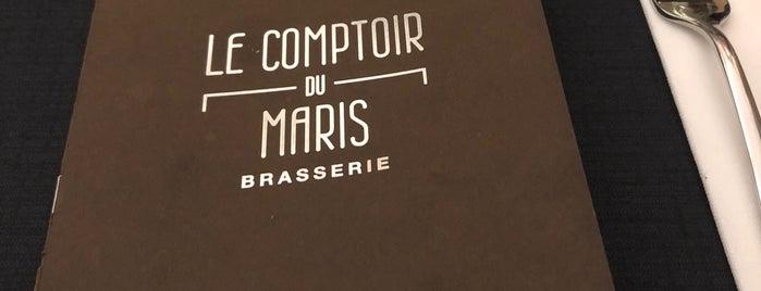 Le Comptoir Du Maris is one of สถานที่ที่ Jean-François ถูกใจ.