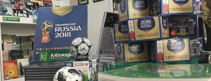 Futbologia Condesa is one of Libros y cafe.