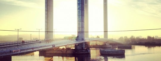 Pont Jacques Chaban Delmas is one of Bordeaux.