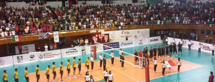 Gimnasio Olímpico Juan de la Barrera is one of Jorge'nin Beğendiği Mekanlar.