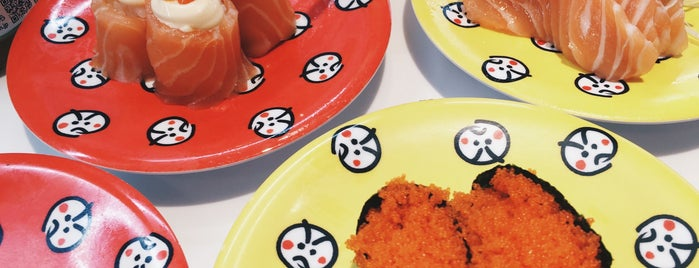 Genki Sushi is one of Locais curtidos por Sergey.
