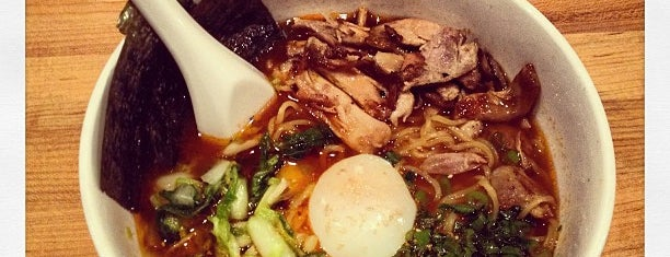 Momofuku Noodle Bar is one of New York List.