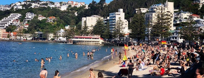 Oriental Bay is one of Wellington NZ.