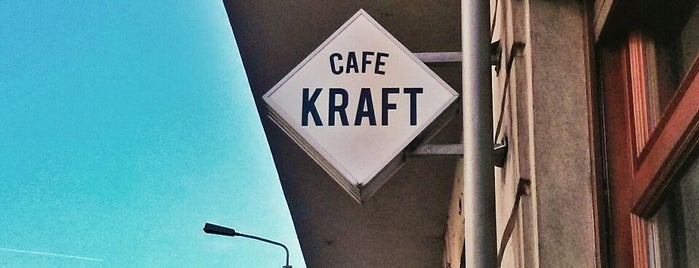 Cafe Kraft is one of Lost in Berlin.