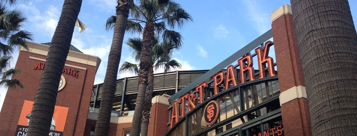Oracle Park is one of Bay Area.