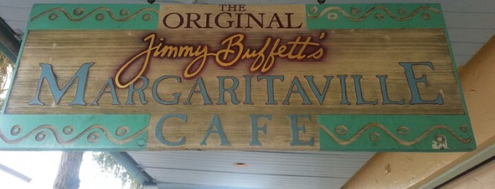 Margaritaville is one of Key West.