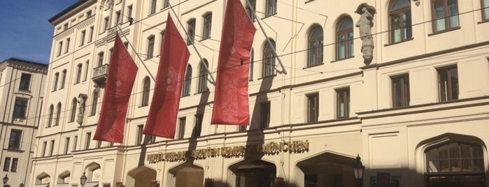 Hotel Vier Jahreszeiten Kempinski is one of Hotels.