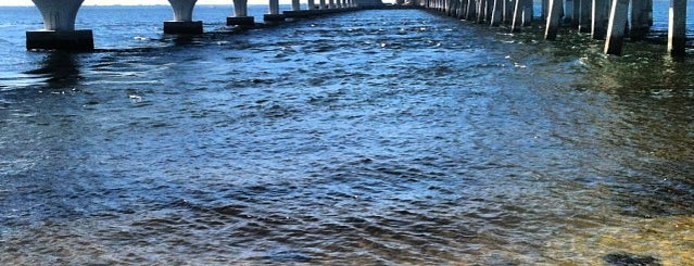 Courtney Campbell Causeway Trail is one of Best of South Tampa Outdoors.