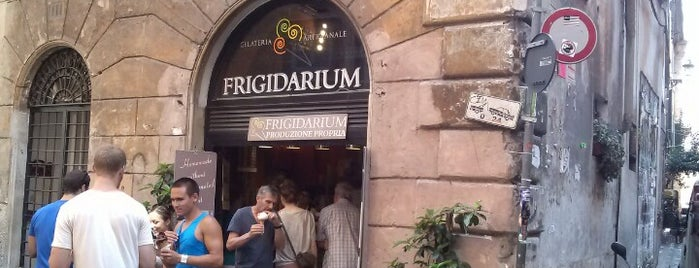 Frigidarium is one of Locais salvos de Queen.