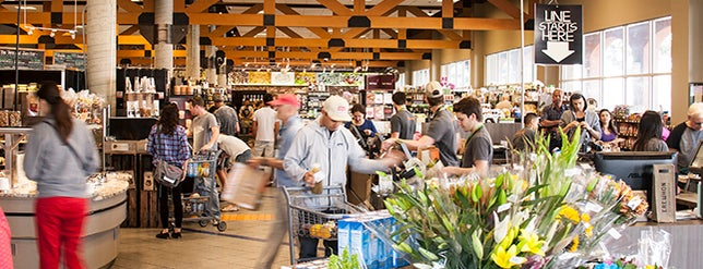 Erewhon Natural Foods Market is one of LA healthy.