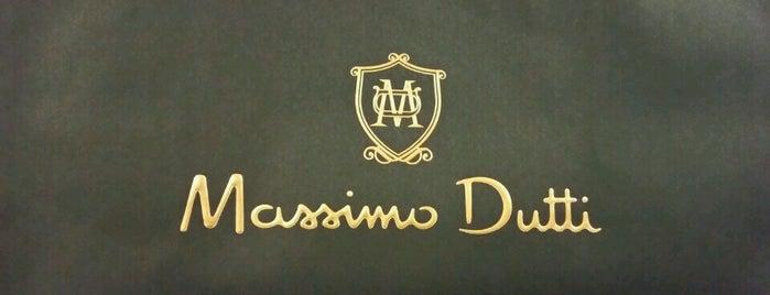 Massimo Dutti is one of Lugares favoritos de Kemal.