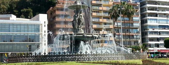 Fuente De Las Tres Gracias is one of Qué visitar en Málaga.