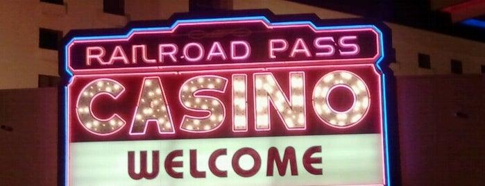 Railroad Pass Hotel & Casino is one of สถานที่ที่ Samantha ถูกใจ.