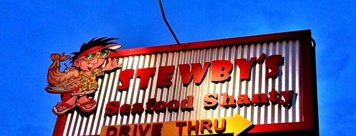 Stewby's Seafood Shanty is one of FWB Vaca.