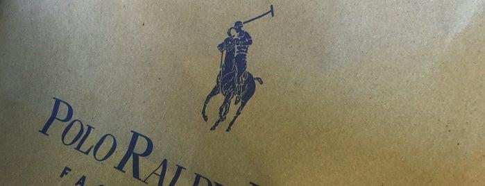 Polo Ralph Lauren Factory Store is one of สถานที่ที่ Gabriel ถูกใจ.