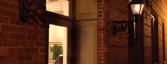 Charming Inns of Charleston'un Beğendiği Mekanlar