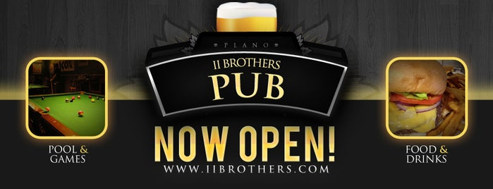 II Brothers Bar & Grill is one of Tryout these places ....