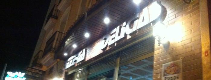 Pizzeria Delicias is one of Donde Comer en Puente Genil.