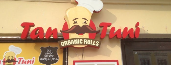 Tantuni-Organic Rolls is one of in da Mow.