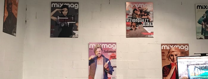 mixmag is one of New York.