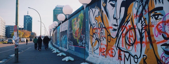 East Side Gallery is one of Berlin.