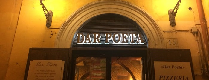 Dar Poeta is one of Comer en Roma.