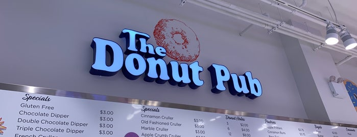 The Donut Pub is one of To-Do: NYC.