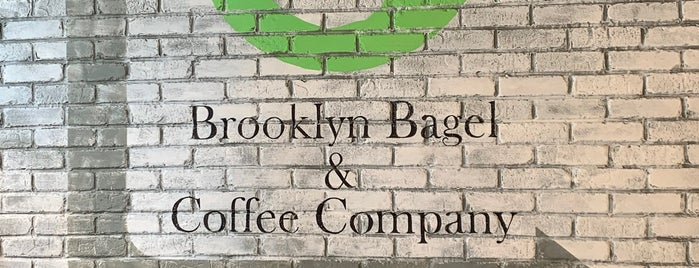 Brooklyn Bagel & Coffee Company is one of NY b4.
