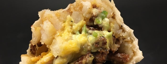 Señor Sisig is one of 40 Must-Try Burritos.