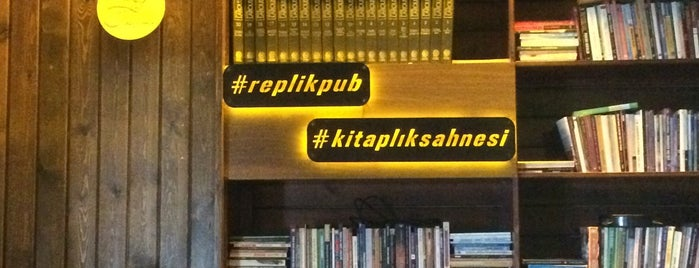 Replik Pub is one of Lugares favoritos de Aysegul.