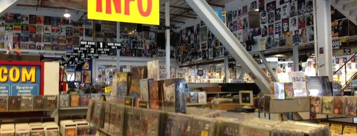 Amoeba Music is one of LA Haunts.