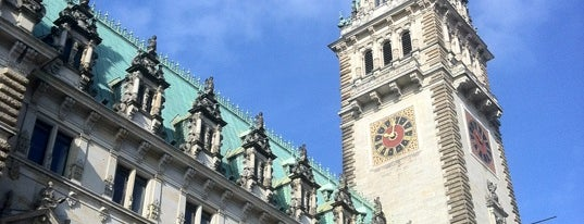 Hamburger Rathaus is one of Best of Hamburg.