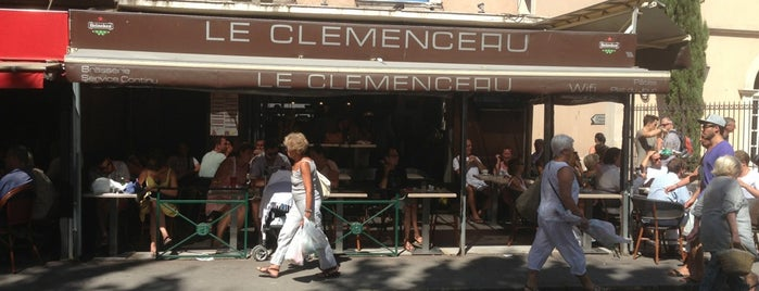 Le Clemenceau is one of Cote d'azur.