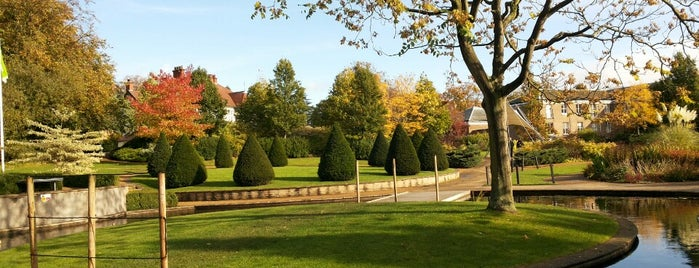 Millennium Garden is one of The great outdoors.