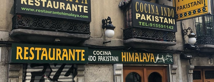 Himalaya Restaurant is one of Delicious Madrid.