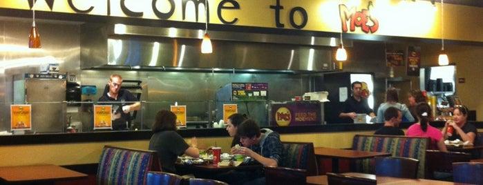 Moe's Southwest Grill is one of Lieux sauvegardés par Ben.