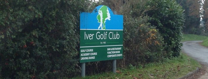 Iver Golf Club & Academy is one of Lieux qui ont plu à Carl.