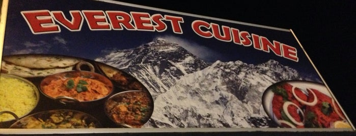 Everest Cuisine is one of Lugares favoritos de Amy.