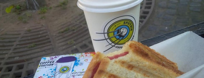 Sputnik Coffee is one of Lugares favoritos de Sashuliti.
