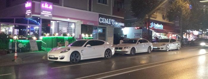 LİLA Cafe&Restaurant is one of สถานที่ที่บันทึกไว้ของ Meltem.
