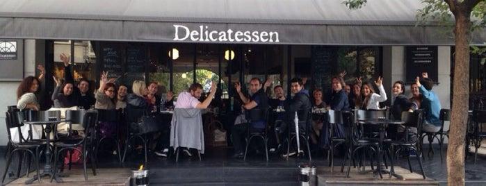 Delicatessen is one of Istanbul.