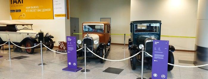 Выставка ретро-автомобилей в аэропорту Домодедово is one of สถานที่ที่ Igor ถูกใจ.