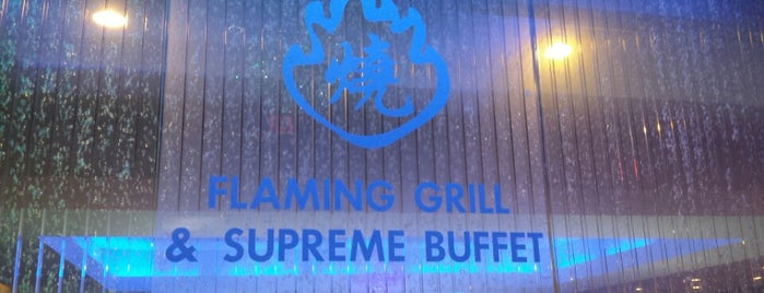 Flaming Grill & Supreme Buffet is one of Casual Restaurants.