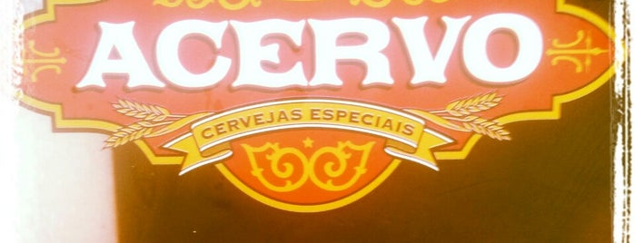 Acervo Cervejas Especiais is one of Locais curtidos por Be.