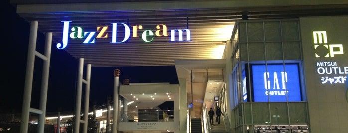 Mitsui Outlet Park Jazz Dream Nagashima is one of Tempat yang Disukai issinta.