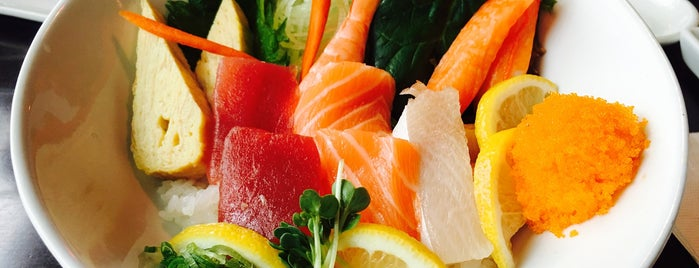 Kabuki Japanese Restaurant is one of 25 Top Sushi Spots in the U.S..