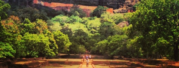 Sigiriya Rock is one of sri lanka.