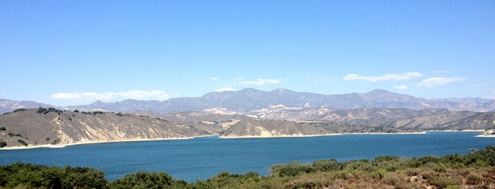 Cachuma Lake is one of LA.