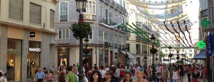 Calle Marqués de Larios is one of Places to travel.